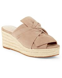 Sole Society Carima Espadrille Wedge - Natural