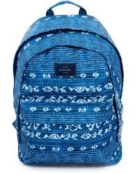 Rip Curl Double Dome Surf Shack Backpack - Blue