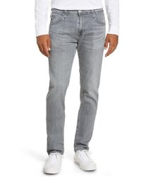 AG Jeans Dylan Skinny Fit Jeans - Gray