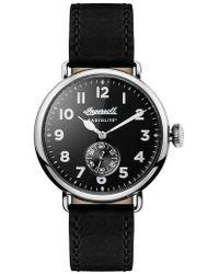 INGERSOLL WATCHES - Ingersoll Trenton Leather Strap Watch - Lyst