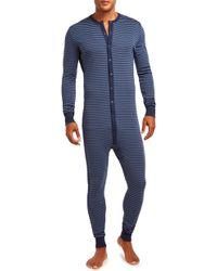 2xist Union Suit - Blue