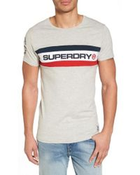 Superdry - Trophy Chest Band Tee T-shirt - Lyst
