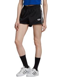 adidas Originals - Logo Tape Shorts - Lyst