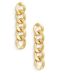 Karine Sultan - Linear Earrings - Lyst