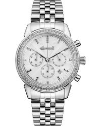 INGERSOLL WATCHES Ingersoll Crystal Accent Chronograph Bracelet Watch - Metallic