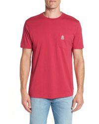 Psycho Bunny - Applique Pocket T-shirt - Lyst