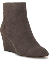 Enzo Angiolini Cristanta Wedge Bootie - Brown