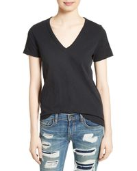 Rag & Bone - Rag & Bone The Vee Tee - Lyst
