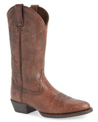 Ariat - Heritage Calhoun Western R-toe Boot - Lyst