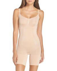 Spanx - Spanx Oncore Mid-thigh Bodysuit - Lyst