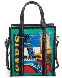 Balenciaga - Extra Small Bazaar Leather Shopper - Lyst