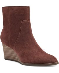 Lucky Brand Wafael Wedge Boot - Brown