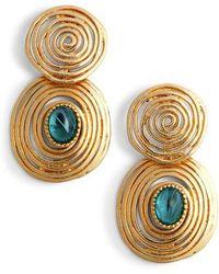 Gas Bijoux - Wave Drop Earrings - Lyst