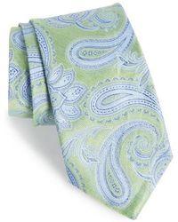 Nordstrom - Anrigo Pailsey Silk & Linen Tie - Lyst