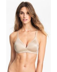 Wacoal - Basic Beauty Soft Cup Bra - Lyst