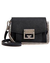 c30fa3538509 Lyst - Givenchy Mini Leather Nightingale Bag Red in Metallic