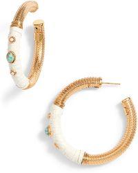 Gas Bijoux - Hoop Earrings - Lyst