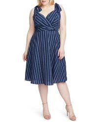 RACHEL Rachel Roy - Kate Stripe Dress - Lyst
