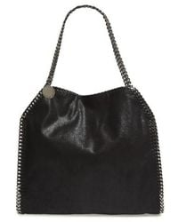 Stella McCartney - 'small Falabella - Shaggy Deer' Faux Leather Tote - - Lyst