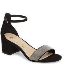 Callisto - Jazmine Ankle Strap Sandal - Lyst