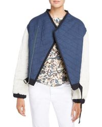 Étoile Isabel Marant - Hanae Quilted Bomber - Lyst