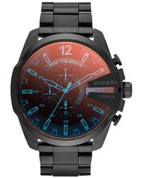 DIESEL | Diesel 'mega Chief' Chronograph Bracelet Watch | Lyst