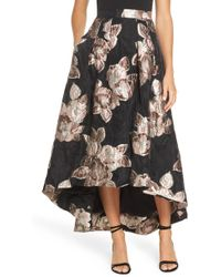 Eliza J - Jacquard High/low Ball Skirt - Lyst
