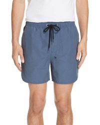 Ksubi Bowie Swim Trunks - Blue
