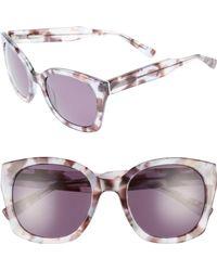 Derek Lam - Sadie 54mm Sunglasses - Ice/ Brown Tortoise - Lyst