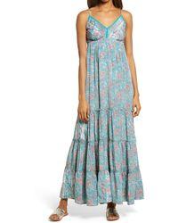 Raga Kassi Sleeveless Maxi Dress - Green