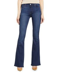 PAIGE High Rise Bell Canyon Jeans - Blue