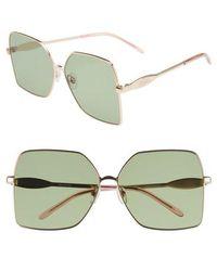 Wildfox - Coronado 62mm Oversize Square Sunglasses - - Lyst