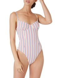 Onia - Isabella High Leg One-piece Swimsuit - Lyst