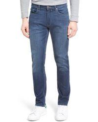 PAIGE - Normandie Transcend Straight Leg Jeans - Lyst