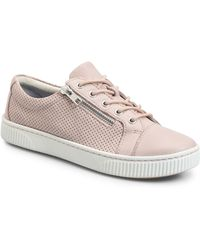ca012ae40664 Lyst - Born Womens Luanda Low Top Lace Up Fashion Sneakers in Gray