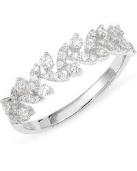 Bony Levy - Getty Leaf Diamond Ring (nordstrom Exclusive) - Lyst