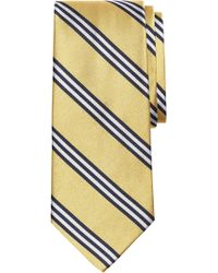 Brooks Brothers - Stripe Silk Tie (x-long) - Lyst