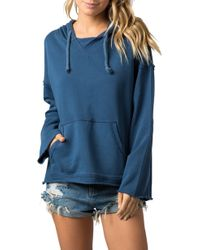 Rip Curl Sun Chasers Hoodie - Blue