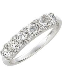 Bony Levy Diamond Cluster Ring - White