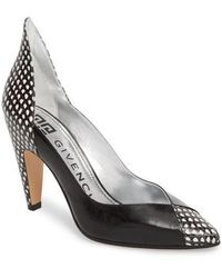 Givenchy - Kangaroo Leather Pointy Toe Pump - Lyst