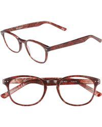 Corinne Mccormack - 'lyla' 52mm Reading Glasses - Rust Red - Lyst