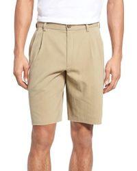 Tommy Bahama - 'st. Thomas' Pleated Shorts - Lyst