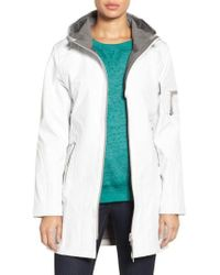 Ilse Jacobsen - 'rain 7b' Hooded Water Resistant Coat - Lyst