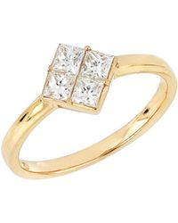Bony Levy - Diamond Cluster Ring (nordstrom Exclusive) - Lyst