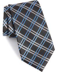 Nordstrom Georgetown Windowpane Silk Tie - Multicolor
