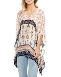 Vince Camuto - Wildflower Poncho - Lyst