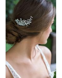Brides & Hairpins | 'catherine' Jeweled Hair Comb | Lyst