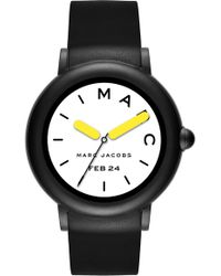 Marc Jacobs - Riley Silcone Strap Smart Watch - Lyst