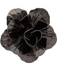 Hook + Albert - Metallic Floral Lapel Pin - Lyst