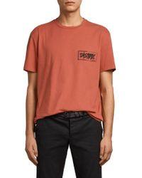 AllSaints - Distroy Graphic T-shirt - Lyst